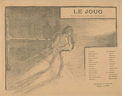 Pierre-Eugène Vibert, 'Le Joug', 1899