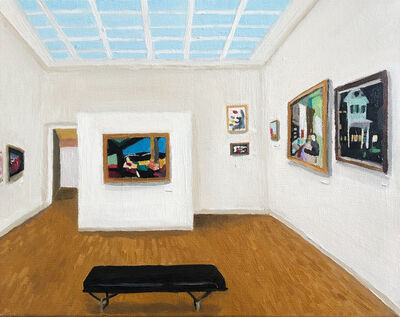 Polly Shindler, 'Yale Art Gallery', 2020