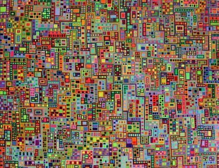 Andrew Chalfen, 'Tiled City II', 2014