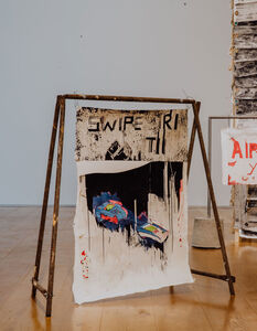 Gareth Nyandoro, 'Swipe', 2018
