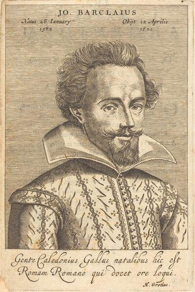 Claude Mellan after Daniel Dumonstier, 'John Barclay', published 1623