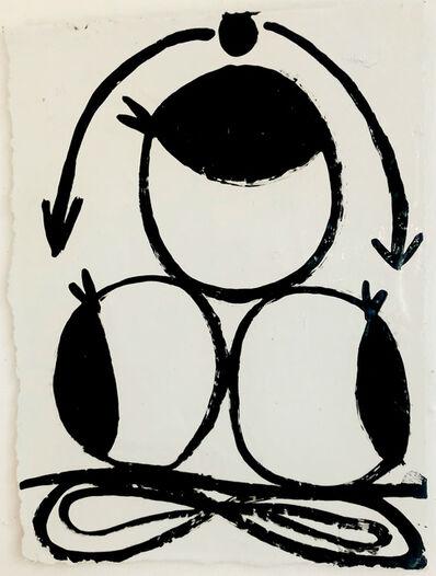 Susan Carr, 'Three Eyes', 2021