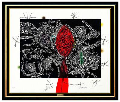 Joan Miró, 'Plate III from Espriu - Miro (D.870)', 1975