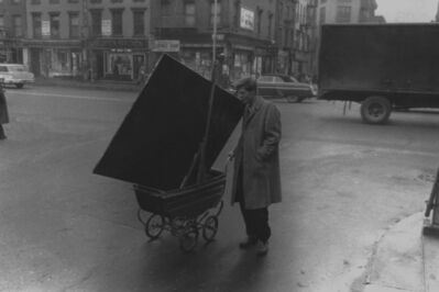 John Cohen, 'Red Grooms on Third Avenue', 1959