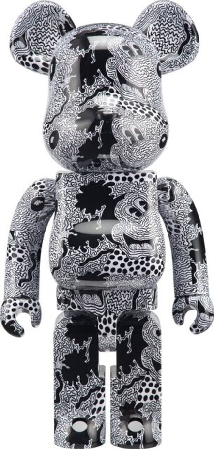 BE@RBRICK, 'Keith Haring X Mickey Mouse 1000%', 2020