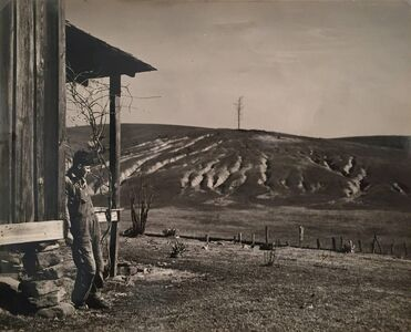 Arthur Rothstein, 'Eroded Land on Tenant's Farm, Walker County, Alabama', 1937