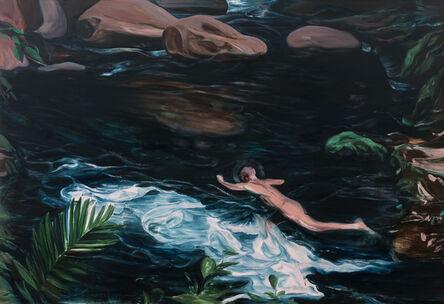Lei Qi, 'Wild swimming alone', 2019