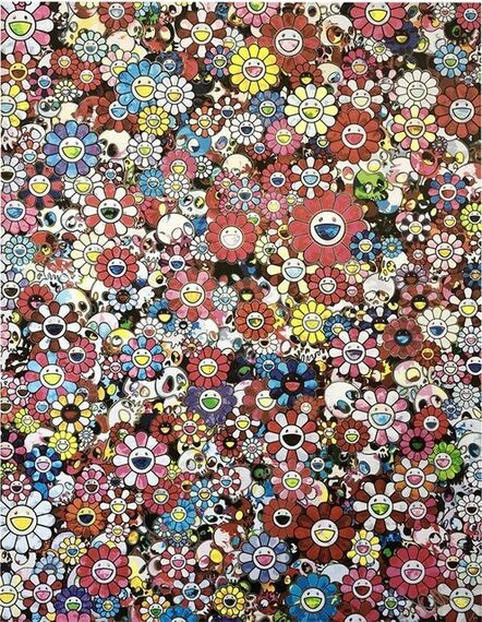 Takashi Murakami, 'Dazzling Circus: Embrace Peace and Darkness with Thy Heart', 2020