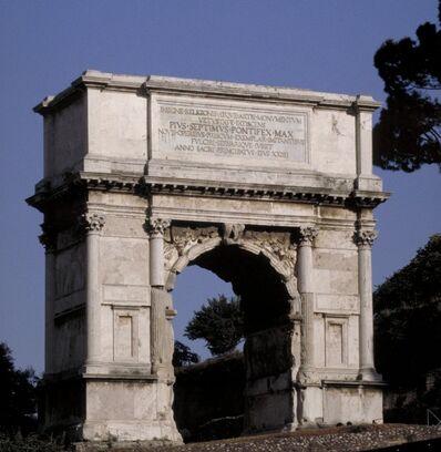 'Arch of Titus', ca. 81 A.D.