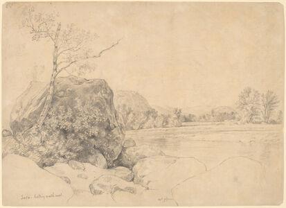 Daniel Huntington, 'Saco, Looking Northwest', mid 1860s