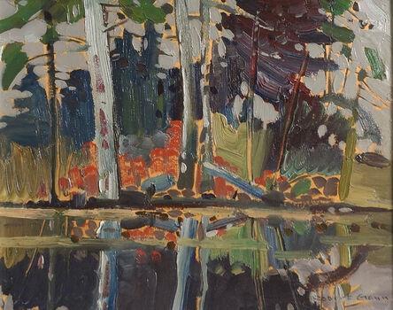 Robert Genn, 'Pool Reflections - Beaver Dam Lake', ca. 1969