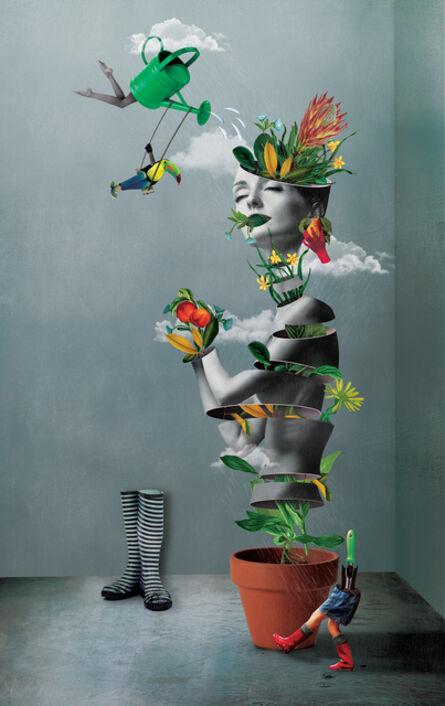 Caitlin Truman - Baker, 'oasis', 2016