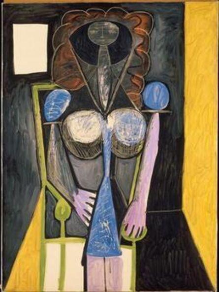 Pablo Picasso, 'Femme dans un fauteuil (Woman in an armchair)', 1946