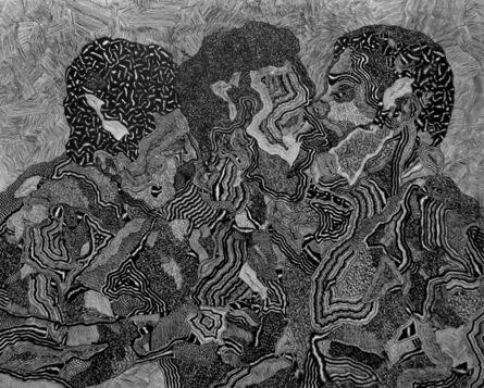 "David Paul Kay, 'Geometric Abstraction: ""Ménage à Trois""', 2021"