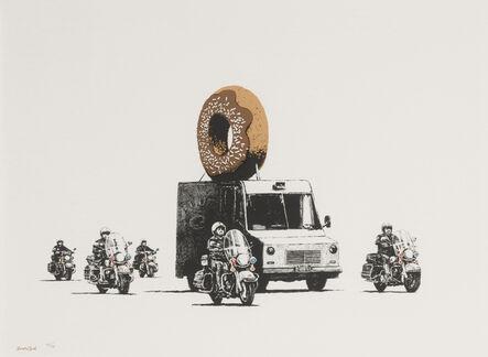Banksy, 'Donuts (Chocolate)', 2009