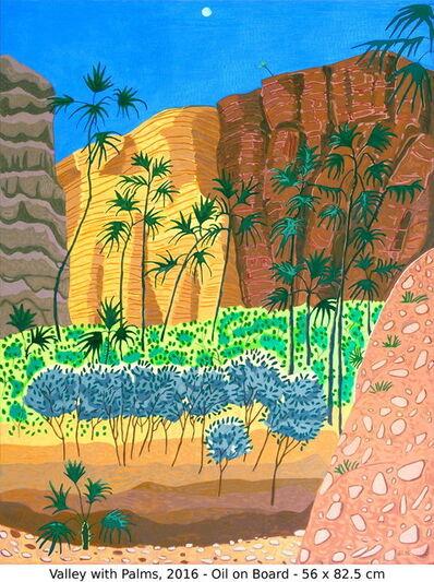 Jacqueline Balassa, 'Valley with Palms', 2016