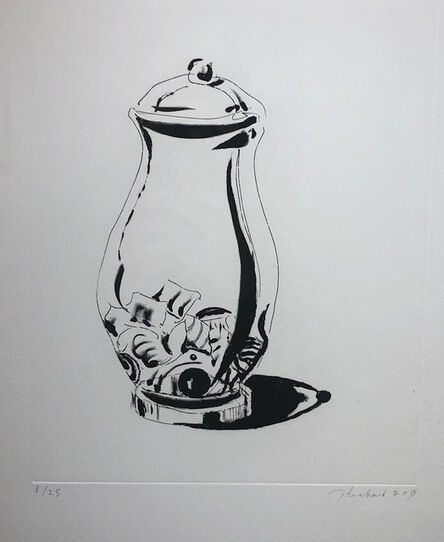 Wayne Thiebaud, 'Candy Jar', 2015