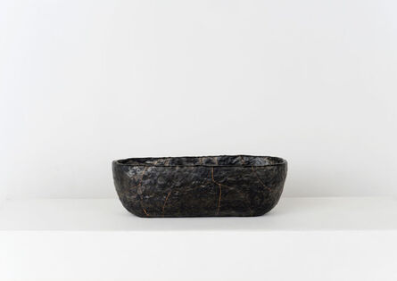 Anders Ruhwald, 'Smolder - Fired Earthenware Bowl, Cracked and Mended', 2015