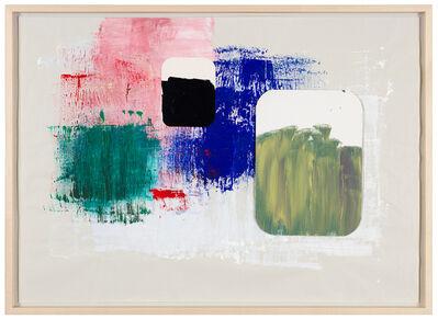 Joëlle Tuerlinckx, 'Brossage moderniste -série journal abstrait (3)', 2017