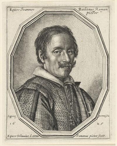 Ottavio Leoni, 'Giovanni Baglione', 1625