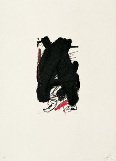 Antoni Tàpies, 'Clau-6', 1973