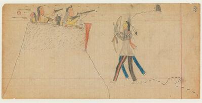 'Ledger Drawing, Vincent Price Ledger Book', ca. 1875-1878
