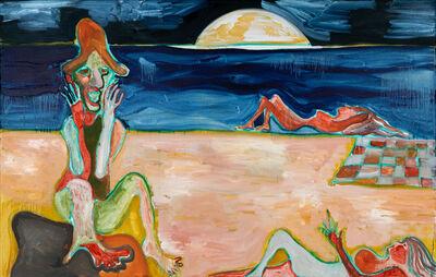 Brian Kokoska, 'Bathers on the Edge', 2020