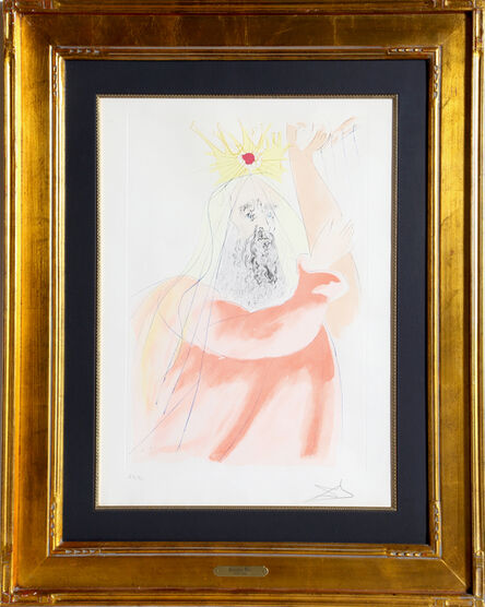 Salvador Dalí, 'King David', 1975