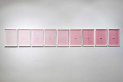 Ardan Özmenoğlu, 'Pantone Pink 1-2-3-4-5-6-7-8-9', 2018