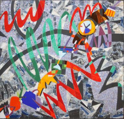 Ugo Nespolo, 'Time Set', 2002