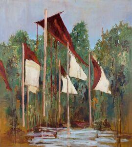 Uwe Wittwer, 'Flags', 2018