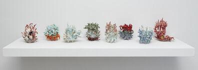 Daniel Bare, 'Twisty Cups (1-8)', 2015