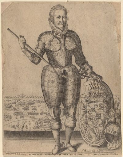 Christoffel van Sichem I, 'Maurice of Nassau, Prince of Orange'