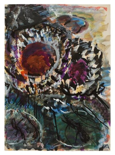 Fritz Ascher, 'Two Sunflowers', undated