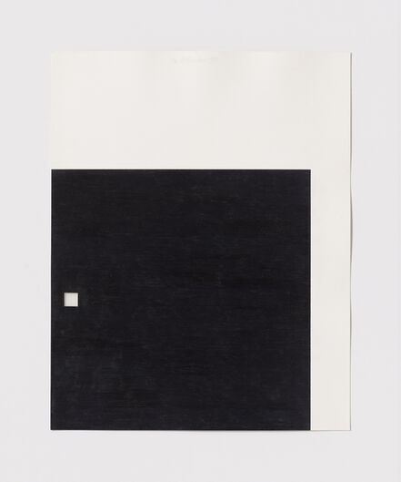 Stephen Antonakos, 'Untitled Cut, O#11', 1977