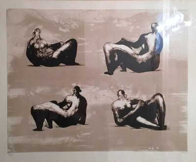 Henry Moore, 'Four Reclining Figures', 1974-1975