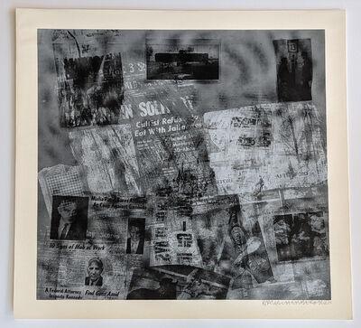 Robert Rauschenberg, 'Surface Series from Currents #42', 1970