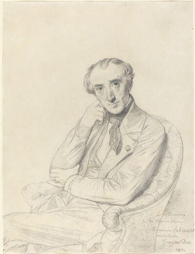 Jean-Auguste-Dominique Ingres, 'Henri Labrouste', 1852