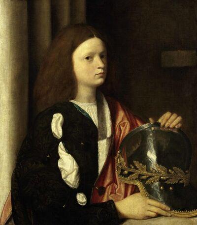 Attributed to Sebastiano del Piombo, 'Portrait of Francesco Maria della Rovere', 1505