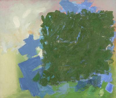 Yvonne Thomas, 'Blue Sign', 1961