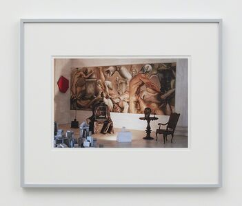 William E. Jones, 'Villa Iolas (Paul Thek, Lucio Fontana, Takis, Harold Stevenson, René Magritte, Egyptian Sculpture)'