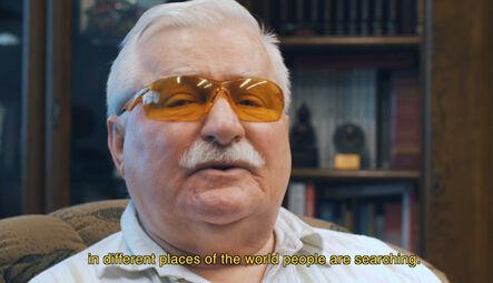 Filip Markiewicz, 'WALESA (video)', 2018