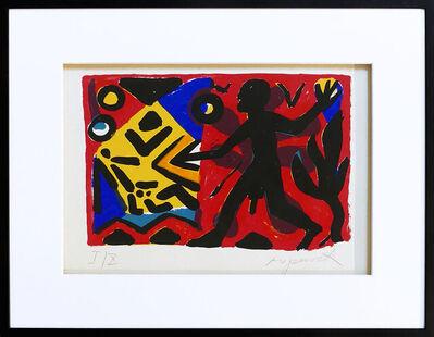 "A.R. Penck, '""Zivilisation"" rot-gelb-blau', 1990"