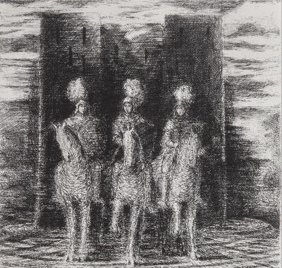 Christopher Le Brun, 'Three Riders', 1992