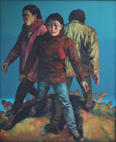 Su Xinping 苏新平, 'Sea of Desire No.17', 1996