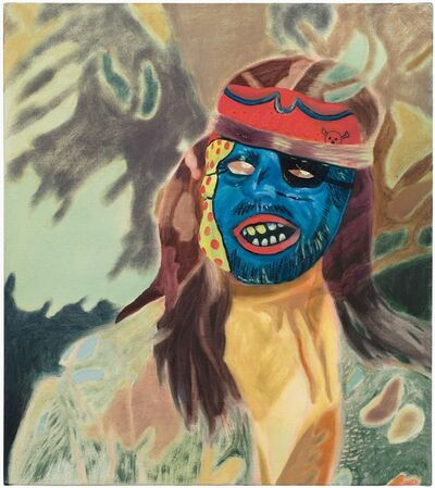 Katie Dorame, 'Other Side -Blue Pirate', 2018