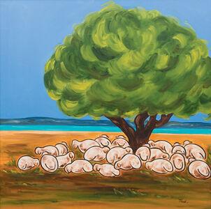 Mona Trad Dabaji, 'L'heure de la sieste ', 2010