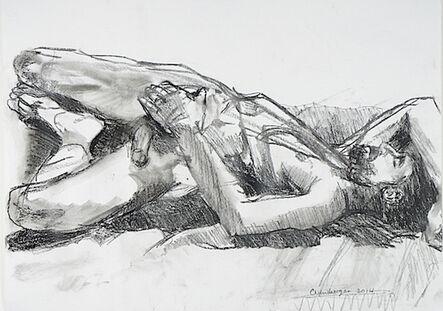 Carolyn Newberger, 'Man at Rest', 2021