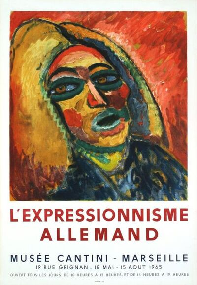 Ernst Ludwig Kirchner, 'L'Expressionnisme Allemand', 1965