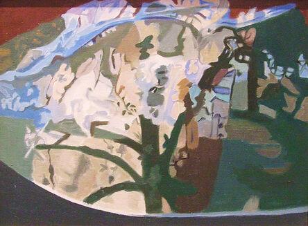 Ralph Wickiser, 'Tree Half Covered', 1991